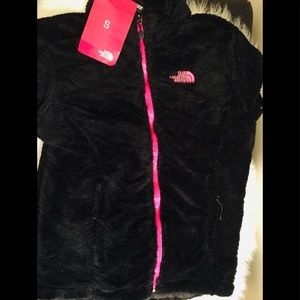 North face coat Black and Pink